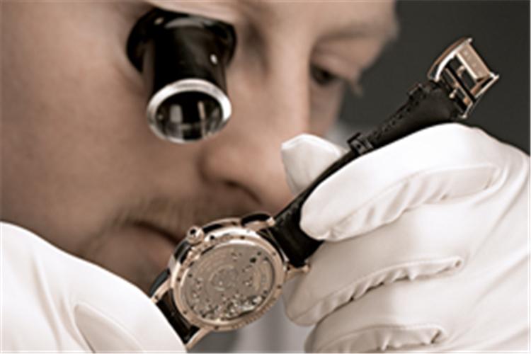 芝柏手表摔坏了怎么修